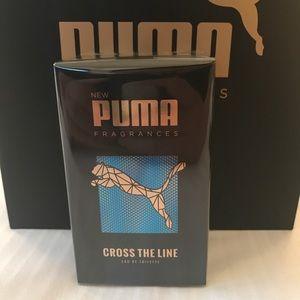 pas mal 390bd f214c NEW PUMA Cross the Line eau de toilette fragrance NWT